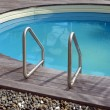 Home swimming pool - Stock Photo