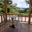 Stock Photo: Tropical patio