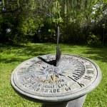 relógio de sol — Foto Stock