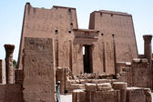 Edfu Temple in Egypt — Stock Photo