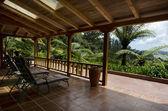 Tropical patio — Stock Photo