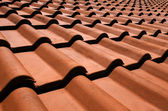 Spanish roof — Stockfoto