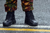 Military uniform — Stock Photo