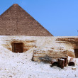 Stockfoto: Great Pyramids in Giza