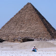 Great Pyramids in Giza — Photo #17325689
