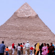 Stock Photo: Great Pyramids in Giza