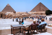 The Great Pyramids in Giza — Stockfoto