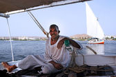 Felucca Sailboat — Stock Photo