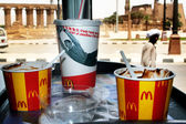 McDonalds fast food restaurant in Egypt — Stock Photo