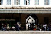 Ramses Train Station in Cairo Egypt — Stock Photo