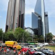 Paseo de la Reforma in Mexico City - Stock Photo