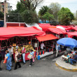 Traditional fixed market in Mexico — Stockfoto