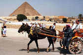 Egypt Travel Photos - The Great Pyramids in Giza — Stock Photo
