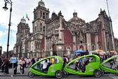 Catedral metropolitana w meksyku — Zdjęcie stockowe