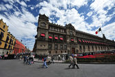 Mexiko nationale palast — Stockfoto