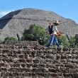 pyramides de teotihuacan — Photo