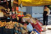 Traditionnel marché fixe au Mexique — Photo