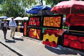 在墨西哥城圣天使市场 — 图库照片