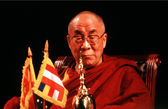 The 14th Dalai Lama of Tibet — Stock Photo