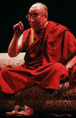 The 14th Dalai Lama of Tibet — Стоковое фото