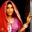 Rajasthani woman - India — Stock Photo