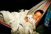 Indian newborn baby — Stock Photo