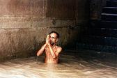 Indie rzeki ganges — Zdjęcie stockowe