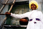 Rajasthani man - India — Stock Photo