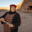 Petra in the Hashemite Kingdom of Jordan — Stock Photo