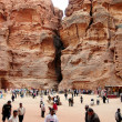 Petra in the Hashemite Kingdom of Jordan — Stock Photo #18286537