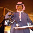 Bedouin hospitality - Stock Photo