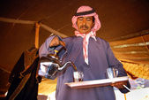 Bedouin hospitality — Stock Photo