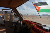 Wadi Rum in the Hashemite Kingdom of Jordan — Stock Photo