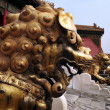 Forbidden city in Beijing China — Stock Photo #18434419