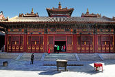 The Lama Temple in Beijing China — Stock Photo