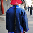 Chinese traditional outfit for man - Stock Photo