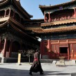 The Lama Temple in Beijing China - Stock Photo