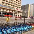 Bicycles In China - Stock Photo