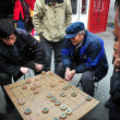 Chinese play Xiangqi (Chinese Chess) in Beijing,China — Stock Photo