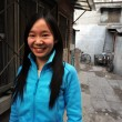 Stock Photo: hutong in beijing china