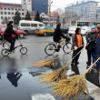 Bicycles In China - Lizenzfreies Foto