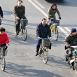 Bicycles In China — Stock Photo