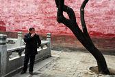Smoking in China — Stock Photo