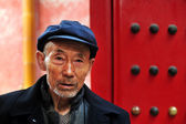 Old Chinese man — Stock Photo