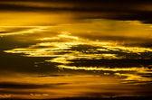 金色的夕阳黄金の夕日 — ストック写真