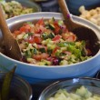 Classic Israeli Salad - Stock Photo