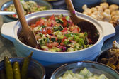 Classic Israeli Salad — Stock Photo