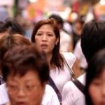 Women in Hong Kong, China — Stock Photo #19204371