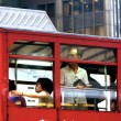 Tram in Hong Kong, China — Foto Stock