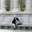 Retiro Park in Madrid Spain — Foto Stock
